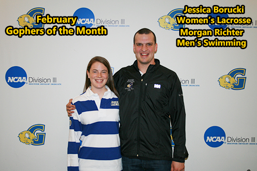 Richter, Borucki Earn Gopher of the Month Recognition