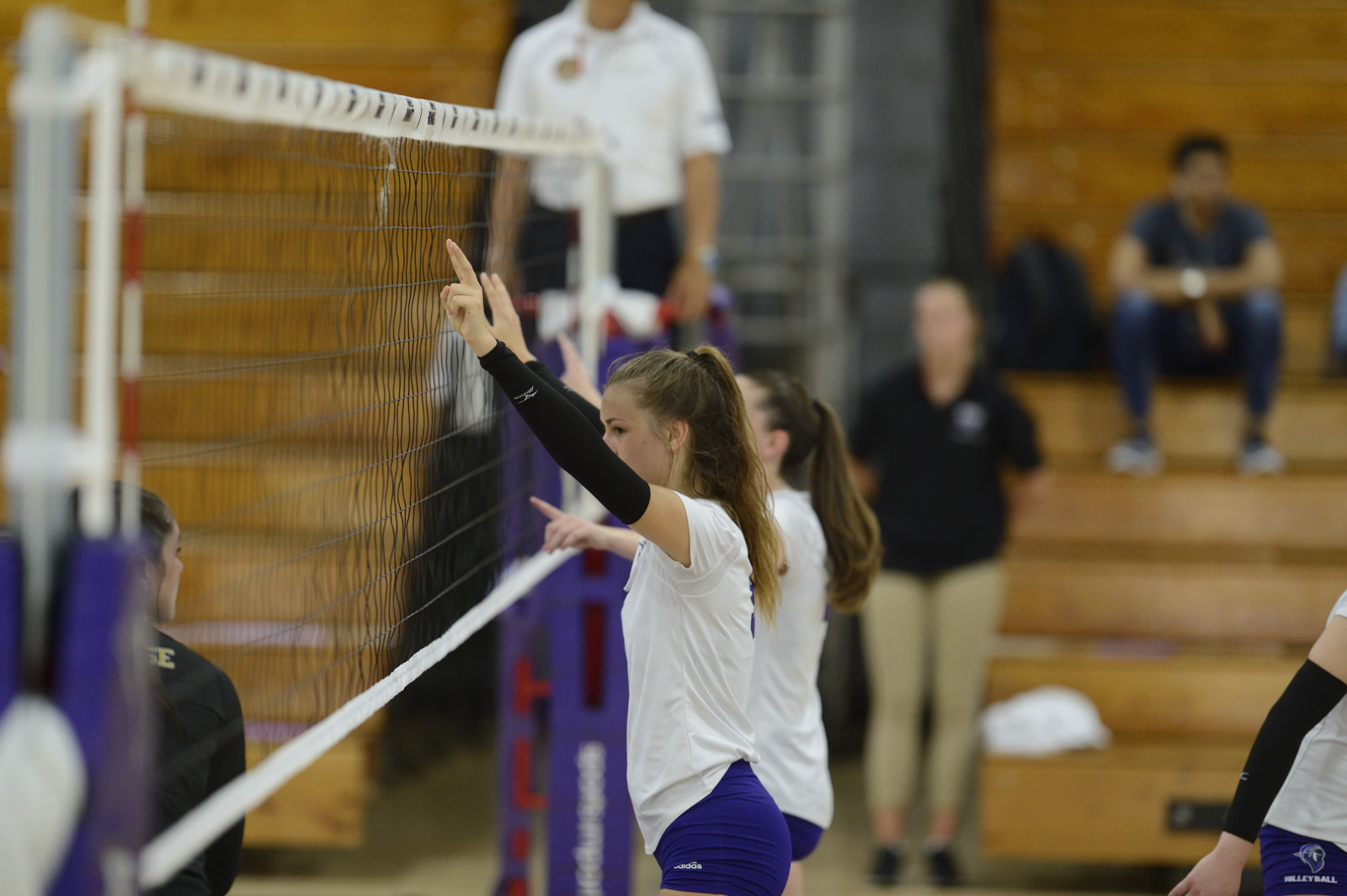 Women's Volleyball Opens 2018 Season With Four-Set Triumph Over Southern Connecticut State