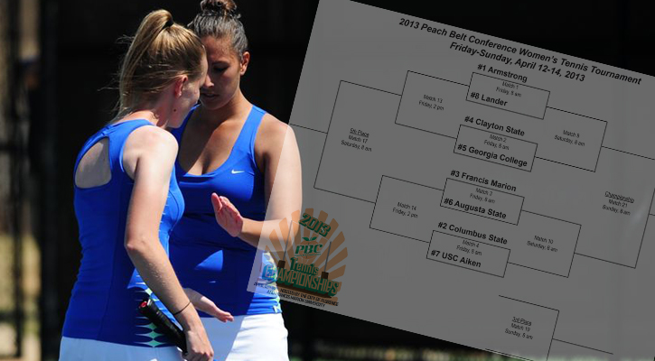 GC Women's Tennis Takes #5-Seed at PBC Tournament