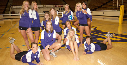 Volleyball begins 2009 season at Tennessee Lady Vol Invitational