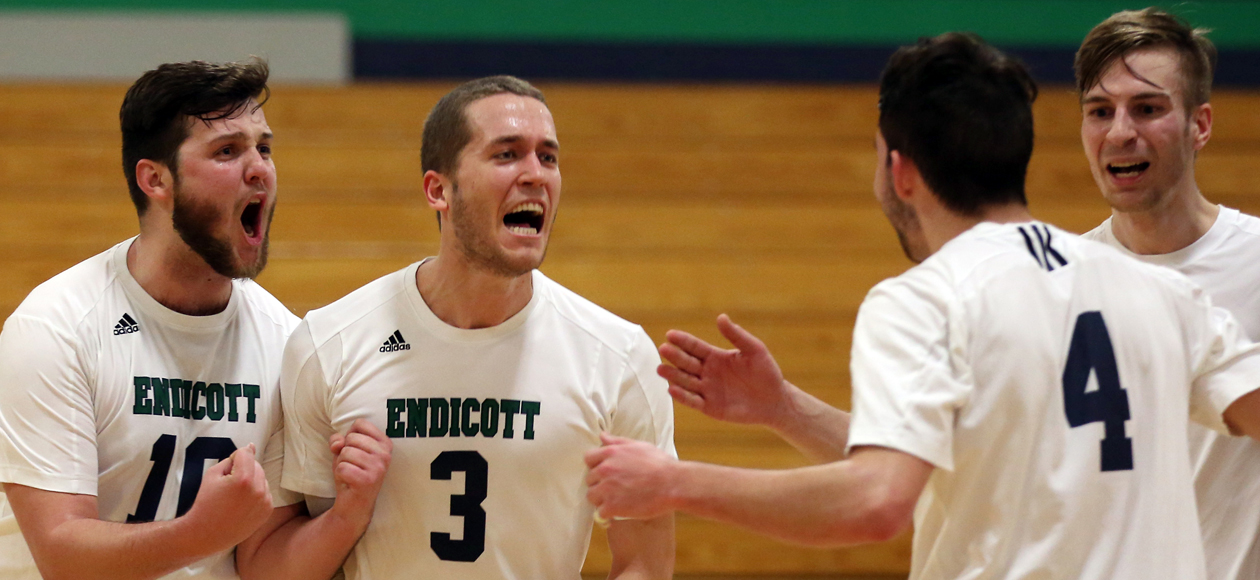 Endicott Clinches NECC Regular Season Title With 3-2 Win Over Daniel Webster