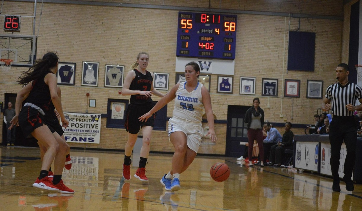 Westminster Women's Basketball Upsets WashU With Adams' Last Second Shot