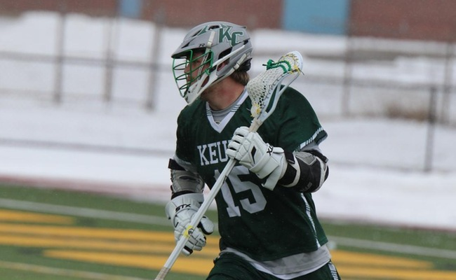 Craig Gerhardt (15) led Keuka College with four goals on Monday