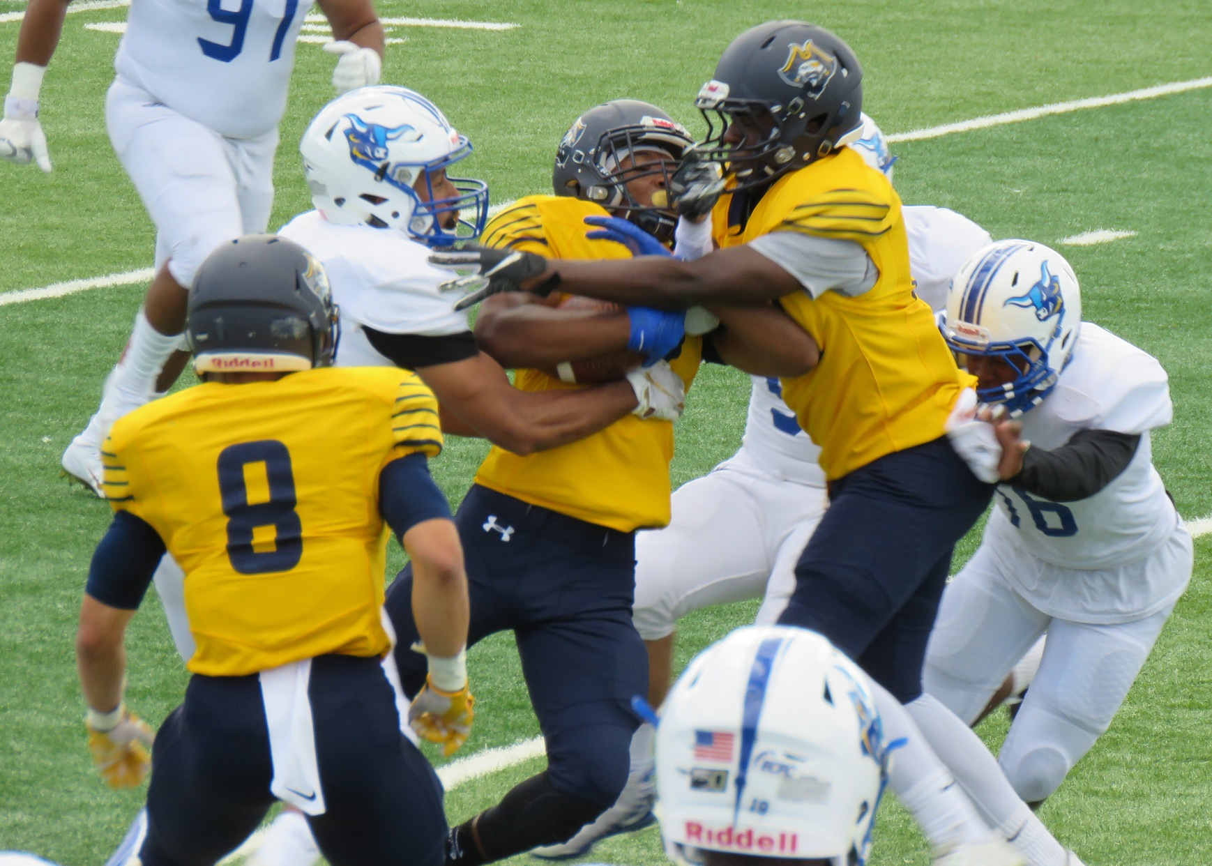 Goal Line Stand Seals Pioneer Victory