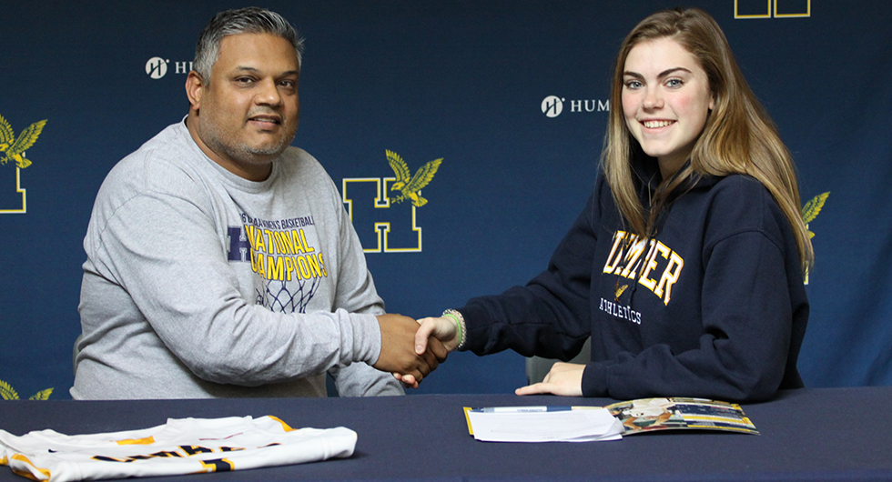 GORDON SIGNS WITH HUMBER BASKETBALL