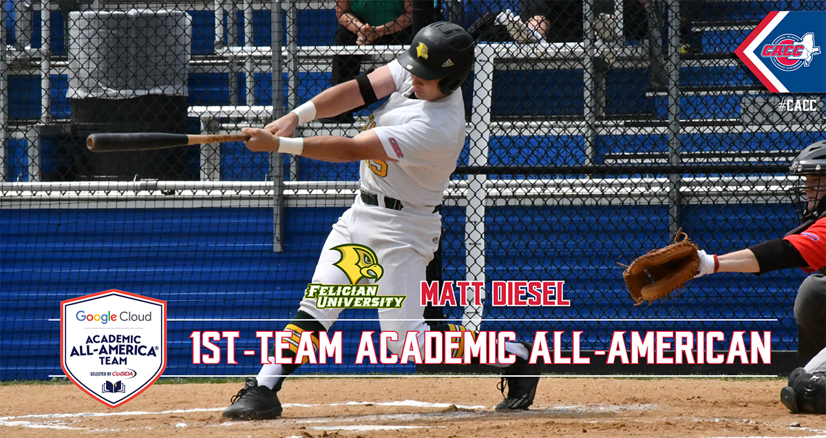 Felician's Matt Diesel Named Google Cloud CoSIDA First-Team Academic All-American