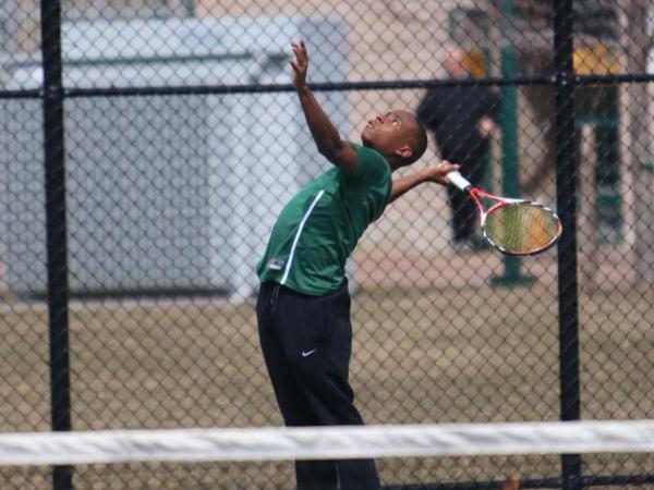 Men's Tennis Sweeps Sage in Skyline Action