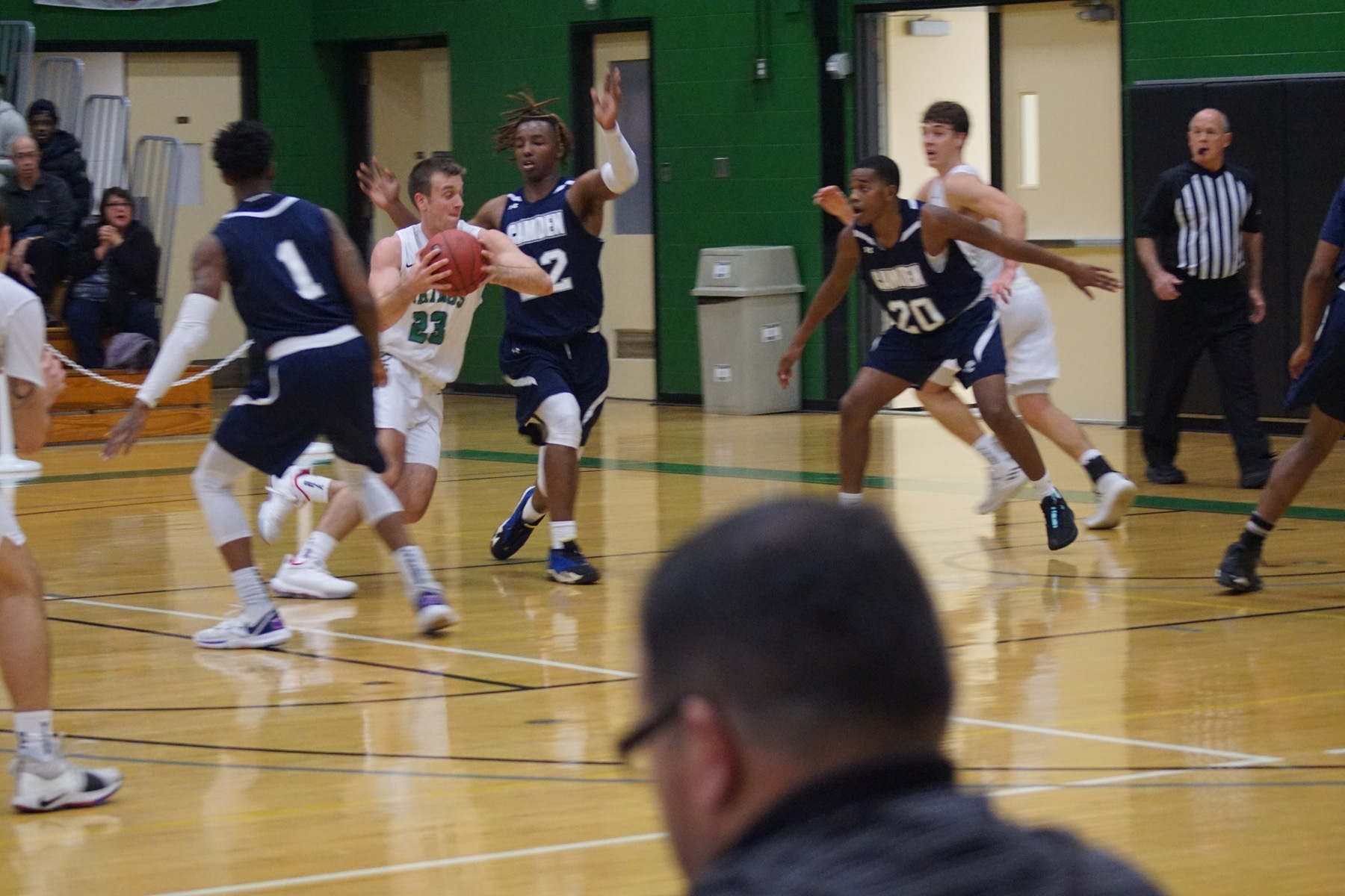 OCC Men's Hoops Come From Behind to Defeat RCSJ - Gloucester, 77-72