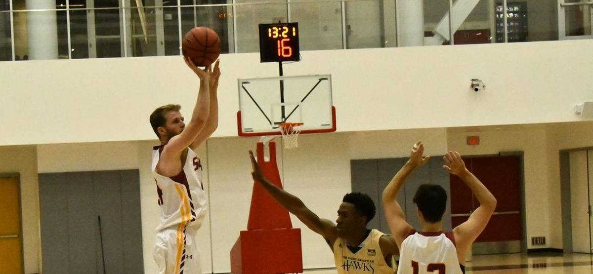 Ball movement guides Stags past Redlands