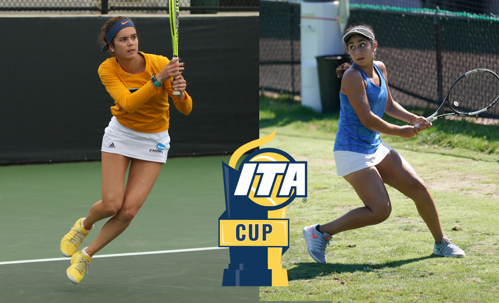 Gonzalez-Rico & Fatemi Highlight Busy Weekend for Emory Women's Tennis