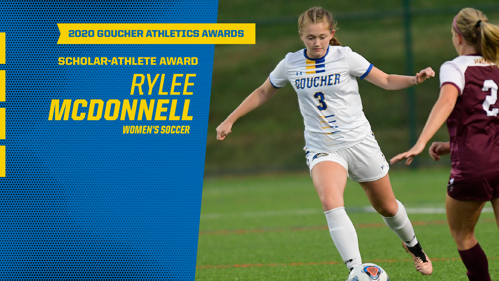 Goucher Athletics Announces Scholar Athlete Award