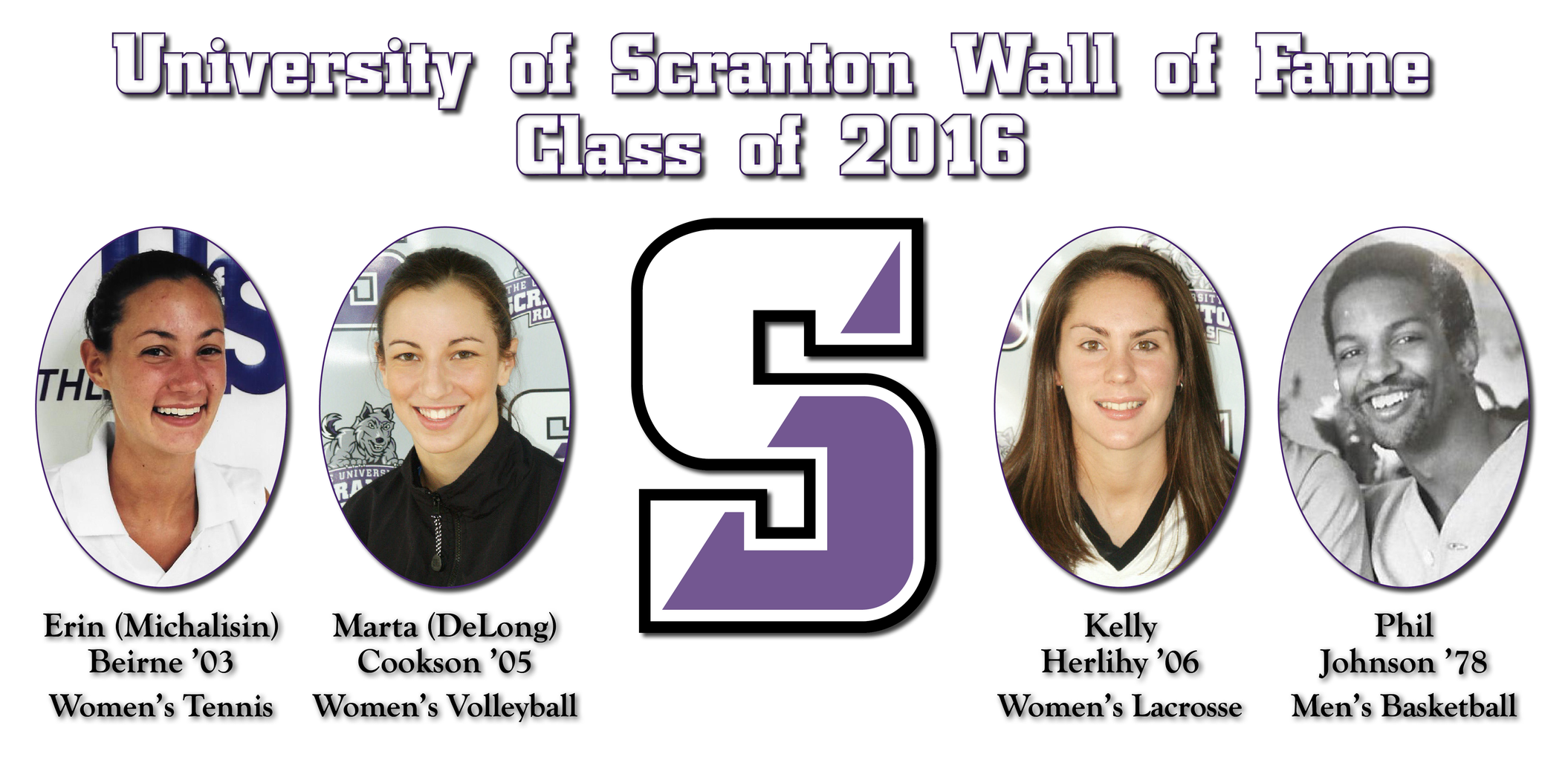 University of Scranton Announces Wall of Fame Class of 2016