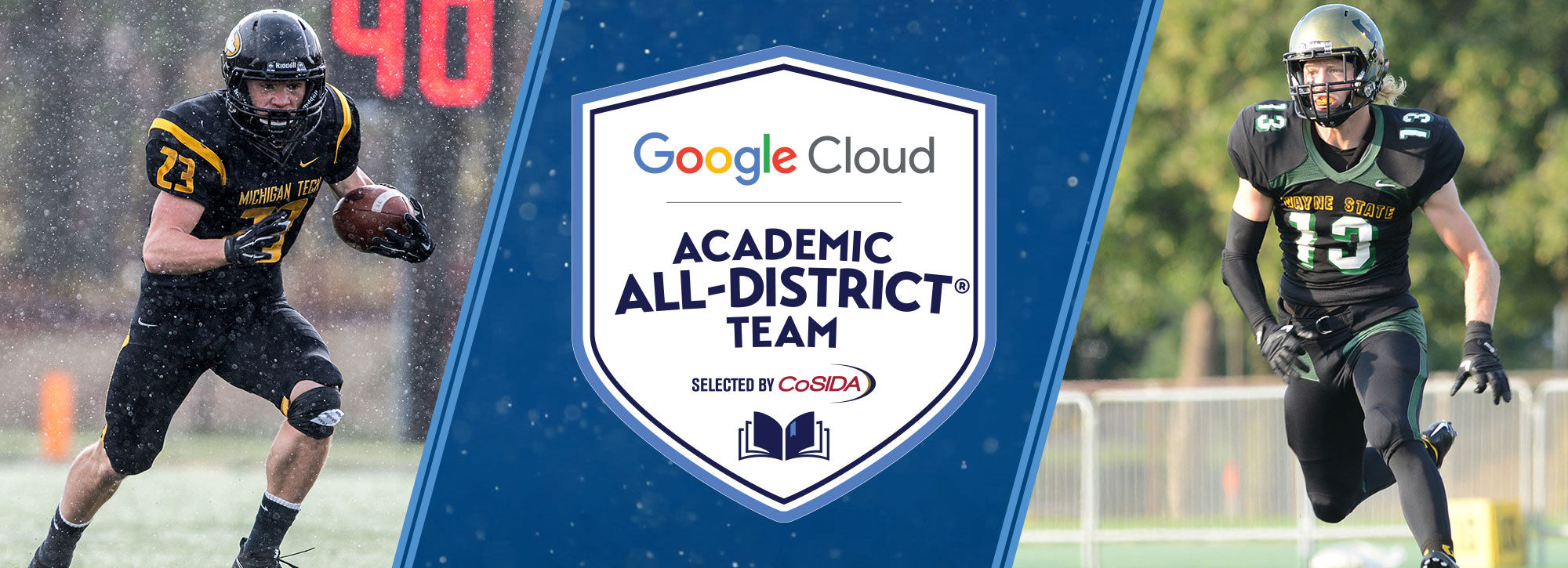 #GLIACFB Lands Eight Google Cloud Academic All-District Selections