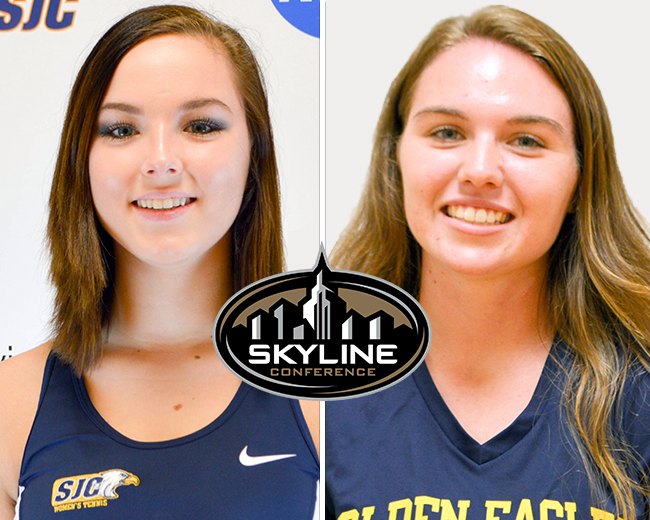 Caporale and Haviland Claim Skyline Weekly Honors
