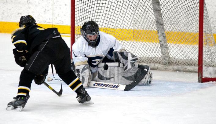 Women's Hockey Shut Out by Stevens Point