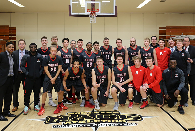 Benedictine University Men's Basketball Team