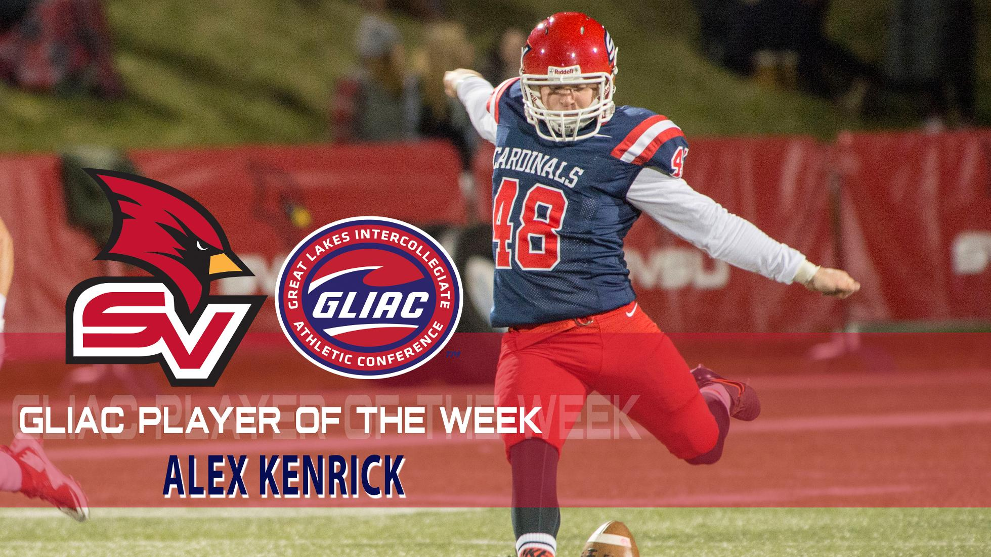 Kenrick Earns Second GLIAC Special Teams POTW Honor