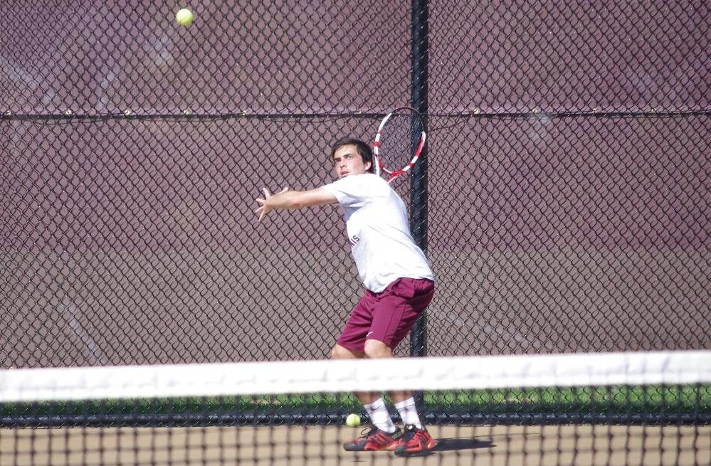 Men's Tennis Ends Spring Break Contests at Florida Tech
