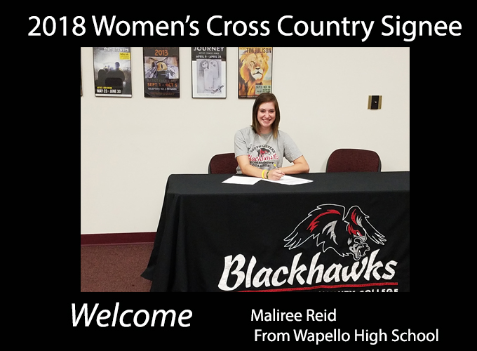 Women's Cross Country Signs Local Standout