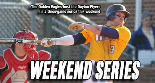Golden Eagles host three-game series against Dayton Flyers