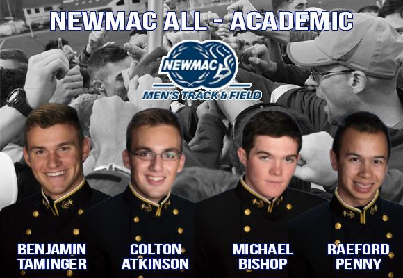 Men's Track Places Four on NEWMAC All-Academic Team