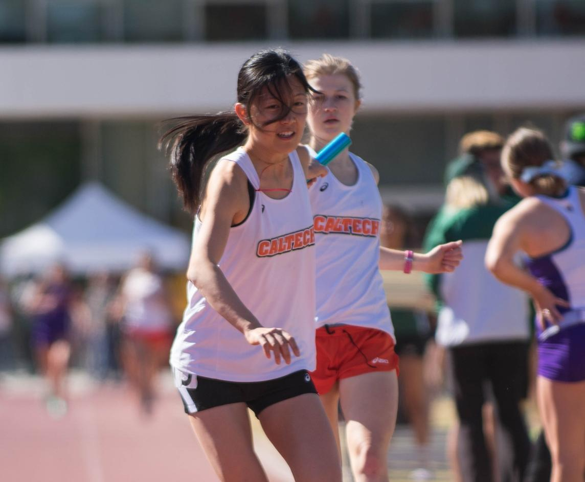 Women's Track Hits Program-Best in Distance Medley