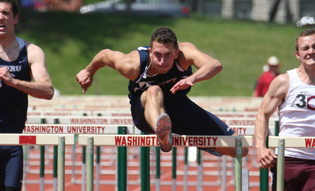 Men's Track & Field Finish Third at Emory Classic