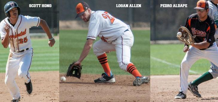 OXY'S BIG THREE NAMED ALL-SCIAC