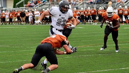 CWRU's Jacob Burke Rushes for School-Record Four TDs in 35-7 Win at Waynesburg