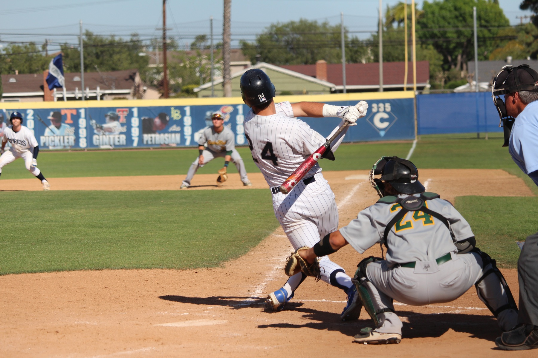 No. 5 Chargers Walk Off to 1-0 Win Over Lasers