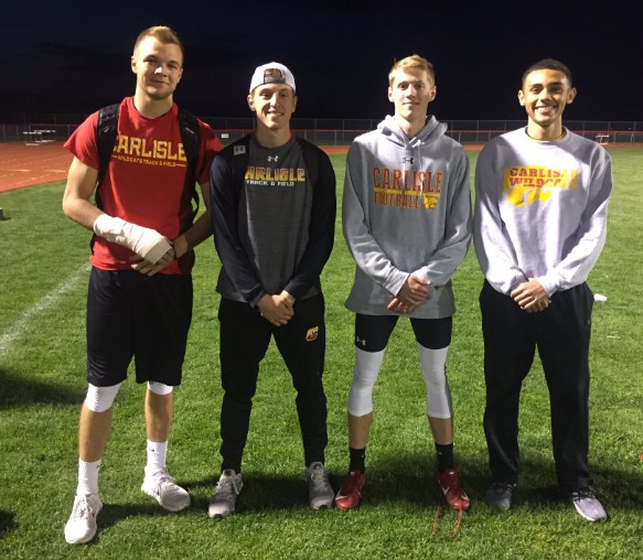 Wildcat Boys Qualify 11 Events for State Track & Field Meet