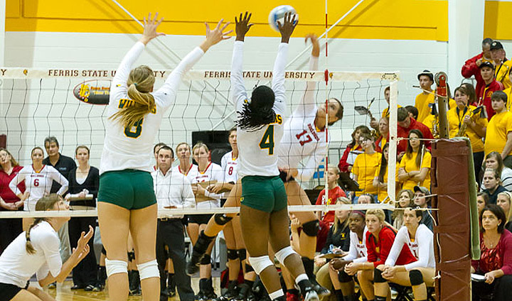 Volleyball Continues Impressive Play In Home Win Over NMU
