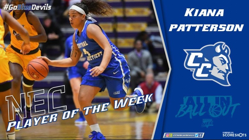 Patterson Named NEC Women's Basketball Player of the Week
