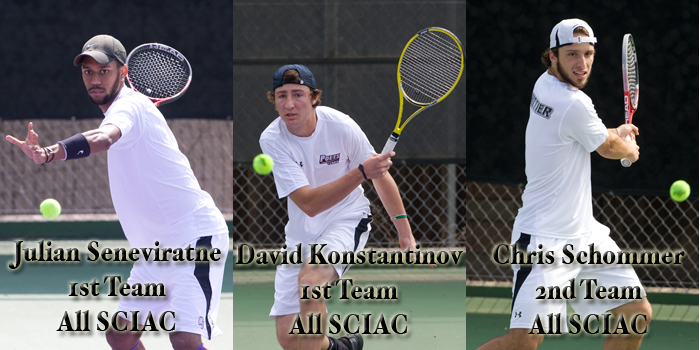 Seneviratne, Konstantinov, Schommer earn All-SCIAC recognition