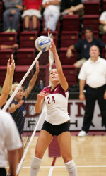 Kelley And Lowe's Double Digit Kills Lead Broncos To 3-0 Sweep Of Bulldogs