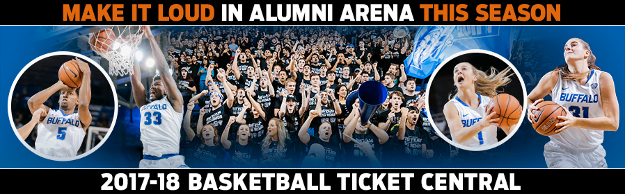 2017-18 UB Basketball Ticket Central