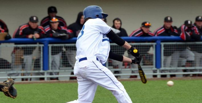 Scheuerlein's home run, strong pitching leads Baseball to sweep over MSOE