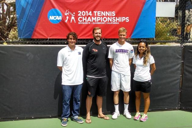 Ellison named ITA West Region and National Assistant Coach of the Year