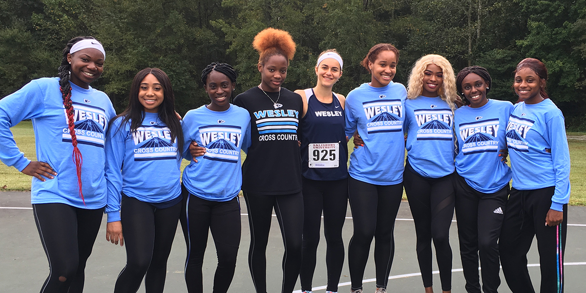 Wesley women run well at Don Cathcart Invitational