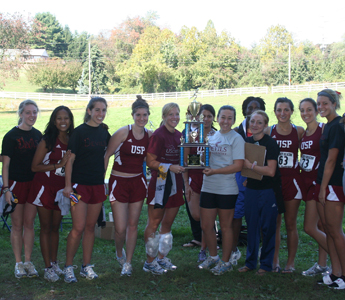 Women's Cross Country Team Wins Goldey-Beacom Fall Classic