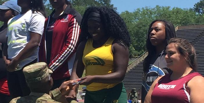Lady Gators Well Represented at State Track Meet
