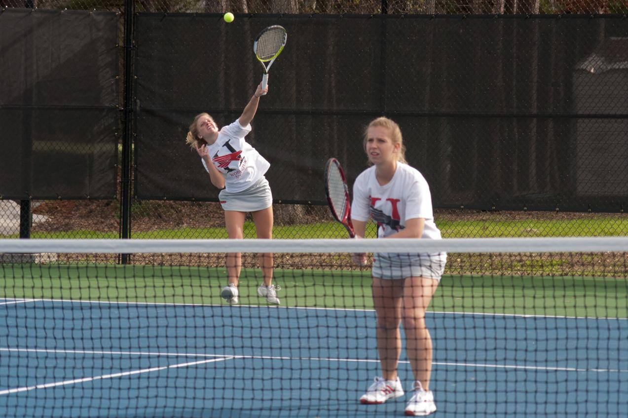 Huntingdon women's tennis falls to GSAC rival Agnes Scott
