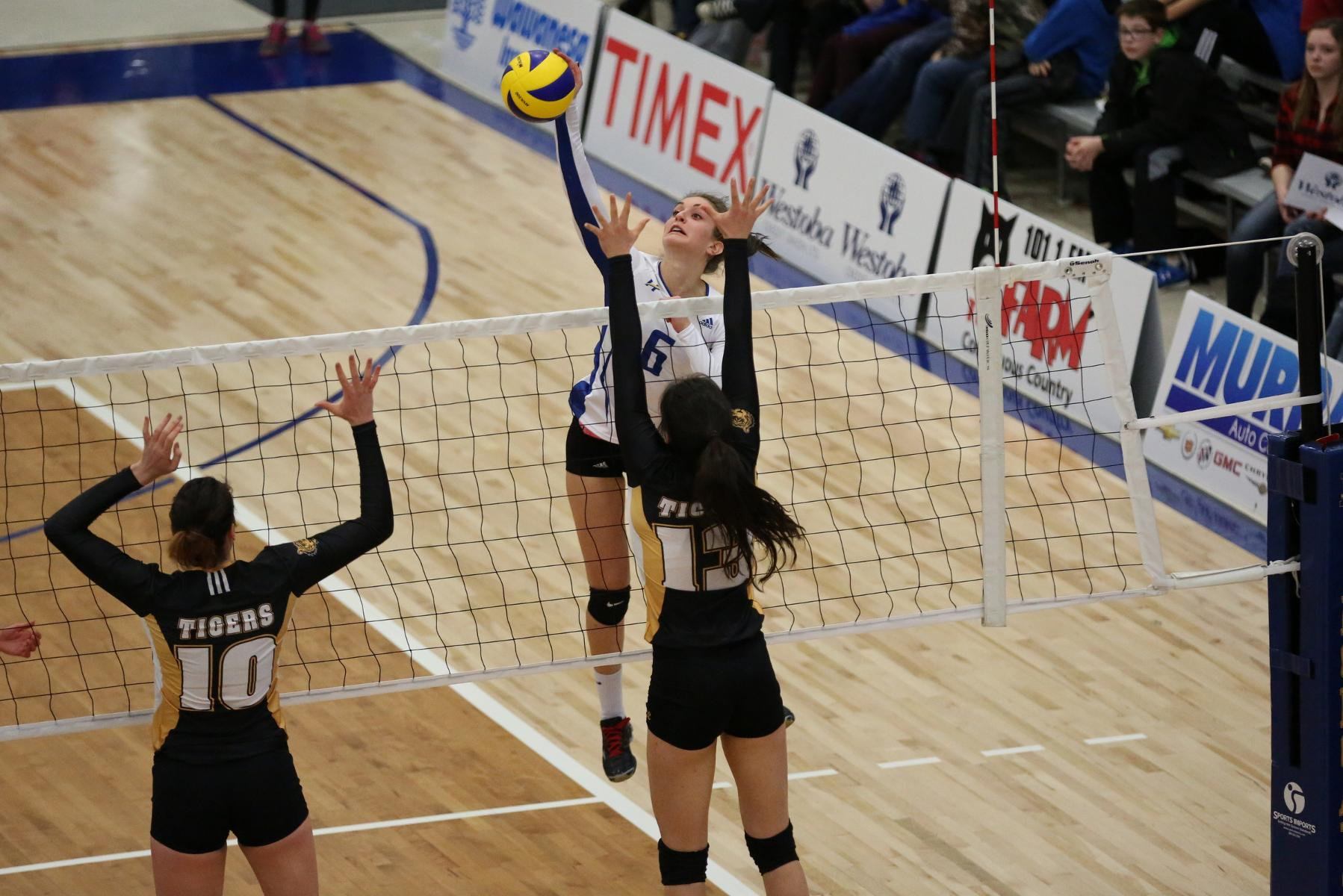 RECAP: First action for Heat women's volleyball