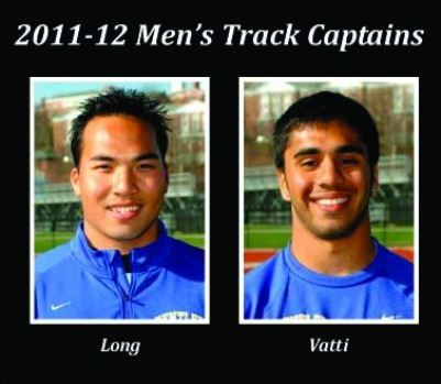Long, Vatti Named Bentley Men's Track & Field Captains