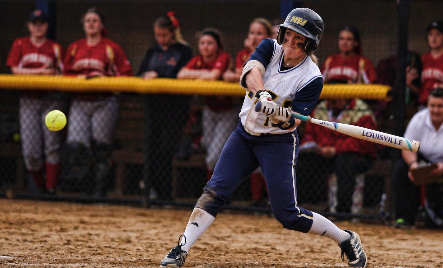 Lions split double header with Otterbein