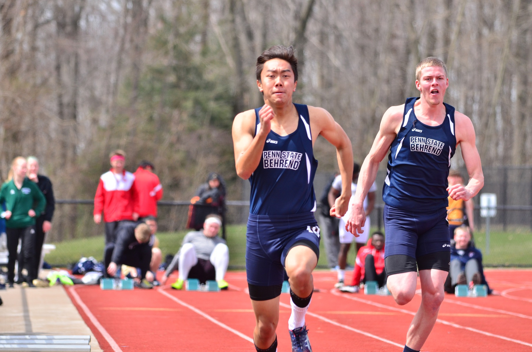 Men's Track & Field Lead after Day One of CSAC Championships
