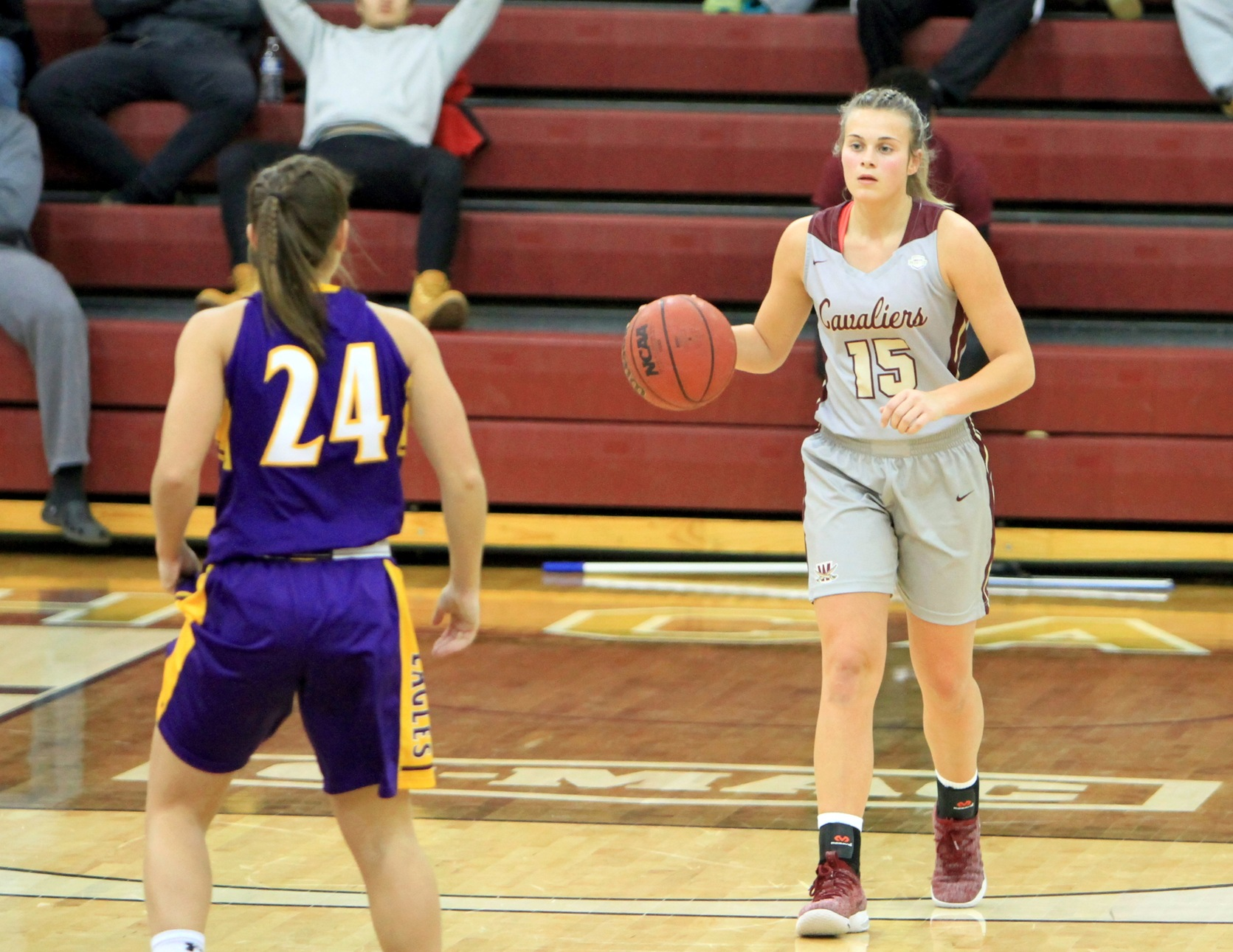 Scarton Sets Career-High in Cavs Victory, 87-73