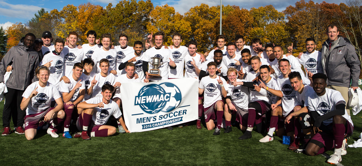 Men's Soccer Uses Late Goal to Claim NEWMAC Championship over Babson, 1-0