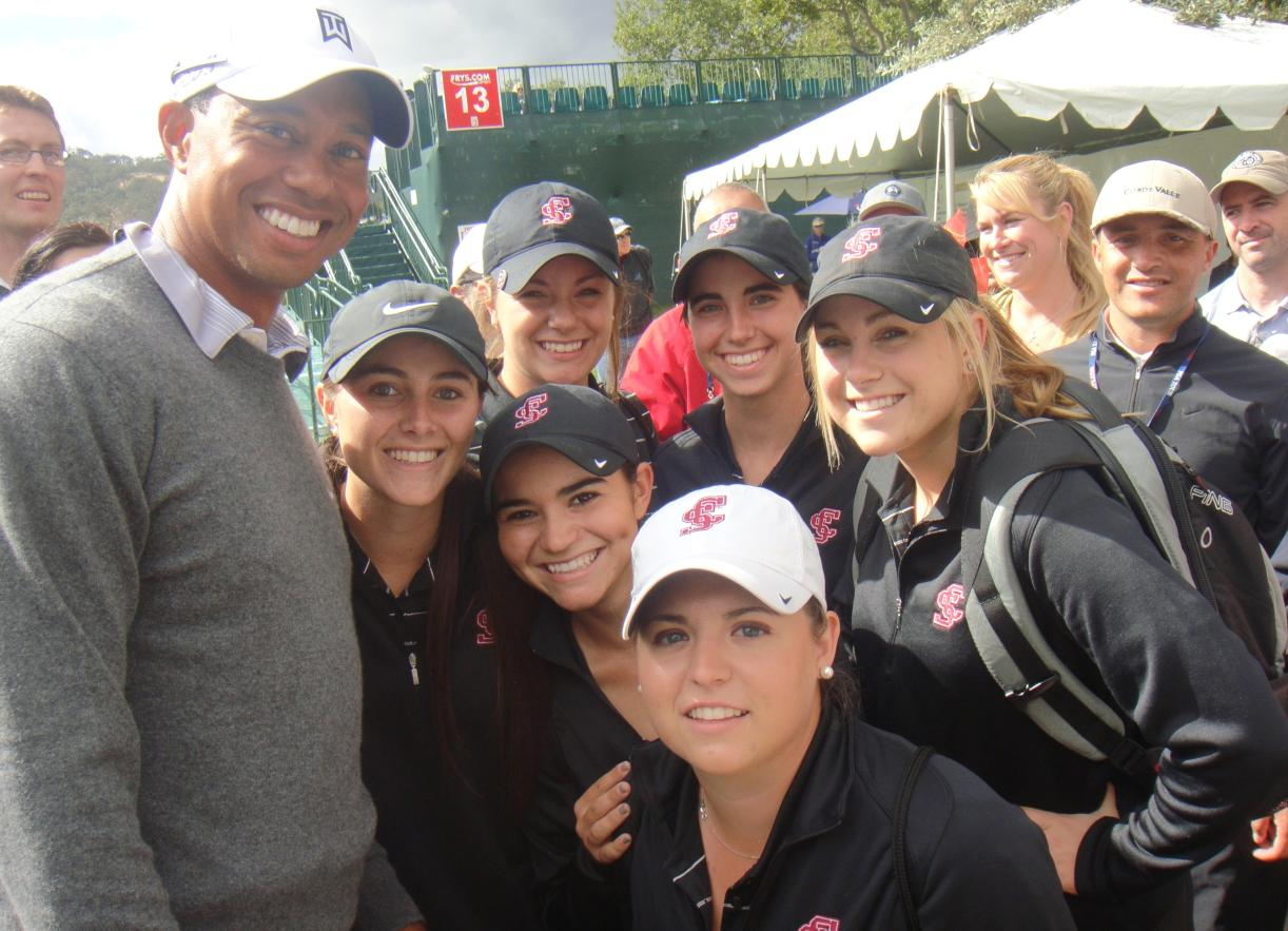 The FRYS.COM Experience! SCU Golfers Meet Tiger, Rocco and Ben Crane