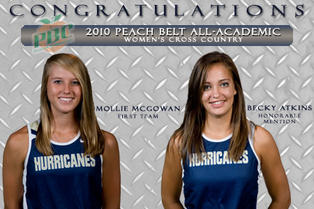 GSW runners receive academic honors